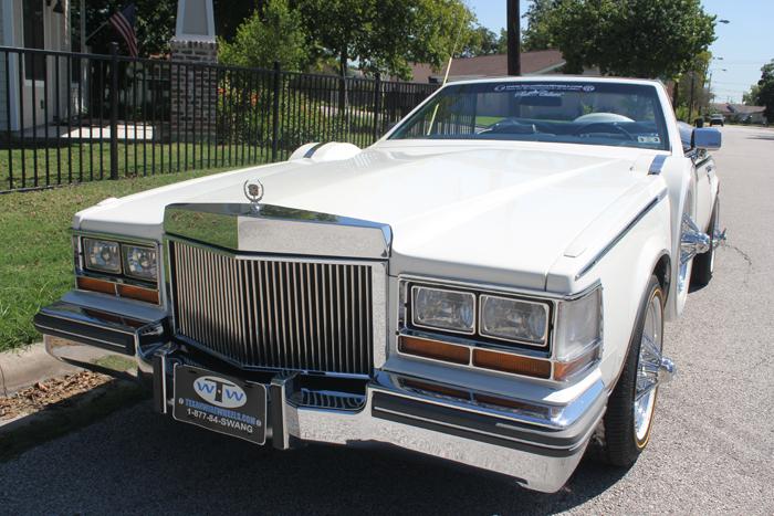 1981 Cadillac Opera Coupe Convertible